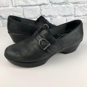 DANSKO Jane Slip On Leather Clogs Nursing Comfort